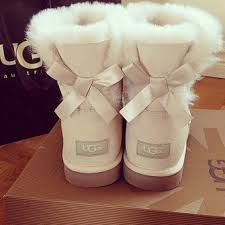 ugg boots with bows brown - Google Search