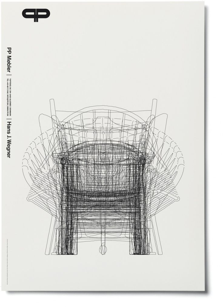 i got this poster of hans j.wegners chairs from the danish craftsmen and furniture makers pp møbler when i visited their workshop    www.pp.dk