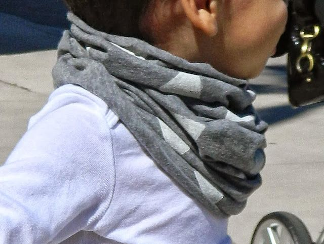 BabyBound: DIY | toddler infinity scarf @eliza