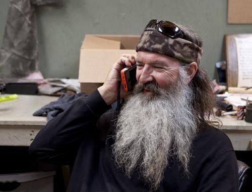 Image result for phil robertson cell phone