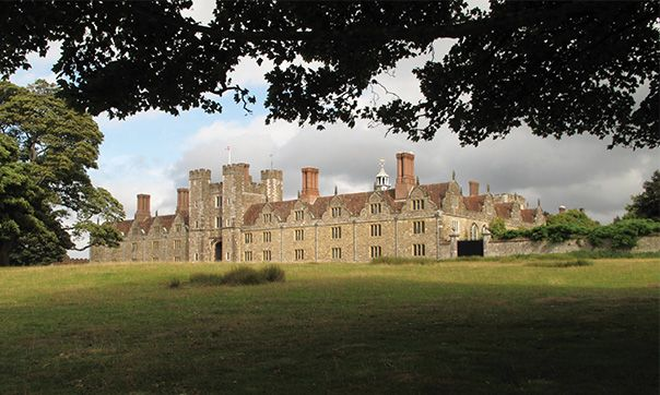 Knole House - once home to the powerful Sackville family, Dukes of Dorset