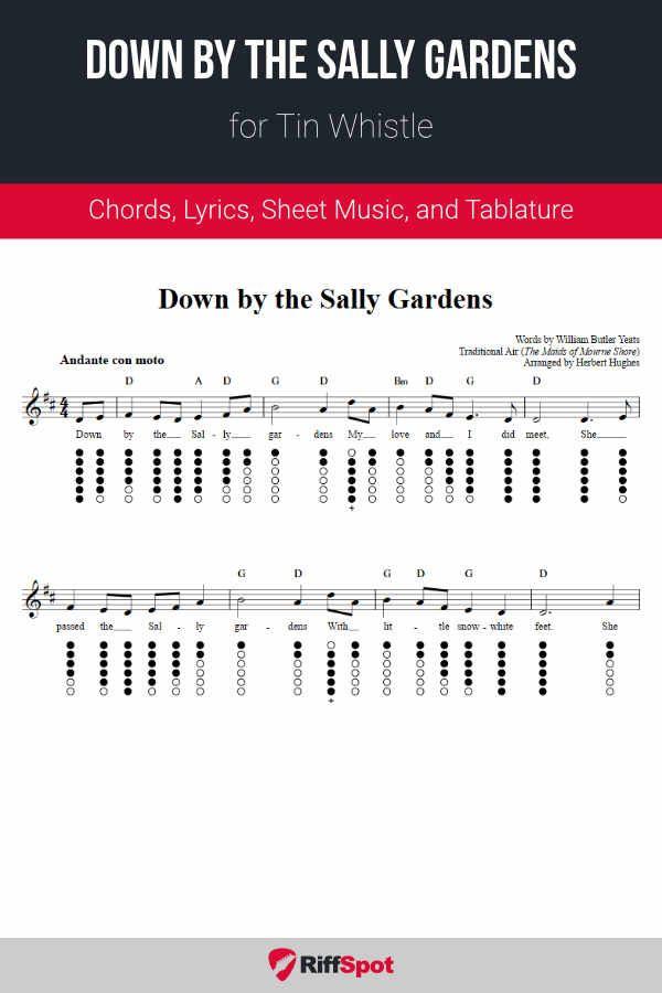 8c8b3dee5caac4f8e9f9c2d1d1976f6a - Down By The Salley Gardens Chords