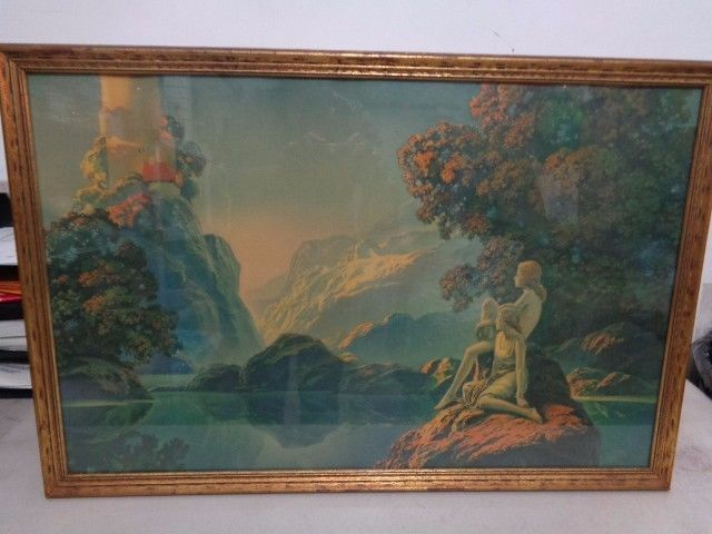 Byron G Newton 20 S Deco Framed Print Meditation Large