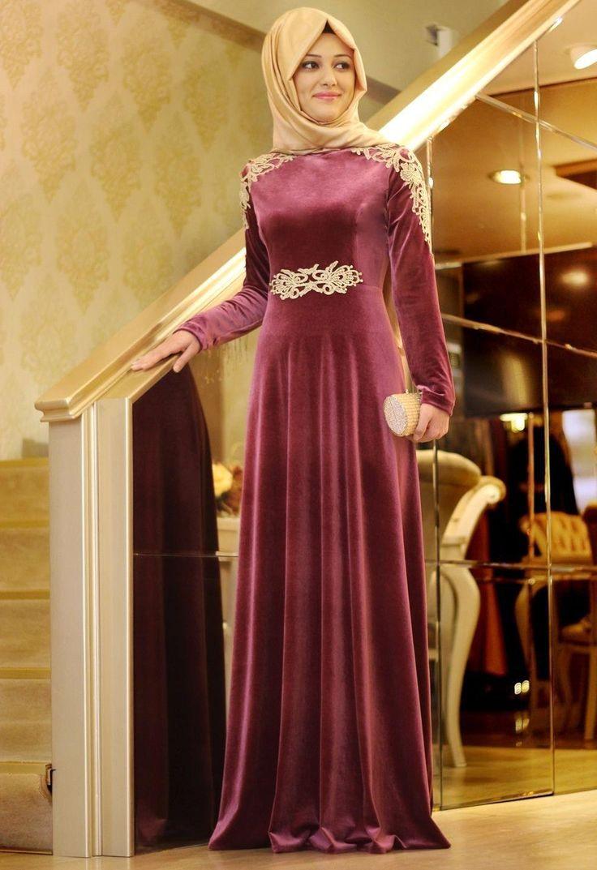 En güzel kadife elbise