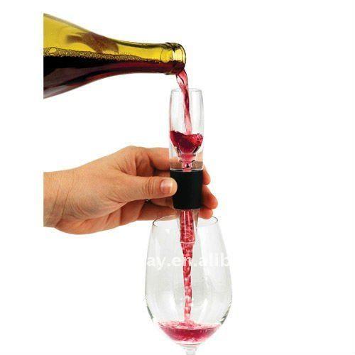 Mini aerador del vino del recorrido de Vinturi del fabricante con precio bajo ((PATENTE))