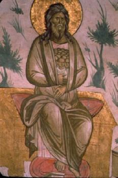 Dechani, Last Judgment. Abraham's Bosom