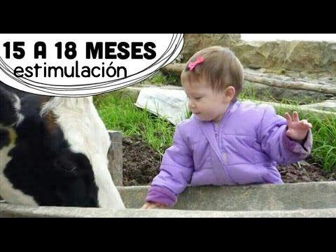 Actividades Bebé 15 a 18 meses (1 año y medio) - Estimulación Temprana