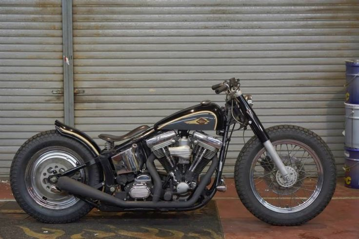 great low softail bobber