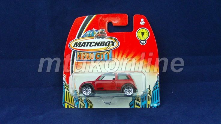 MATCHBOX 2003 MINI COOPER S | 1/58 | CHINA | HERO CITY 75 | C1630