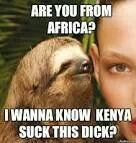 Are you from Africa?