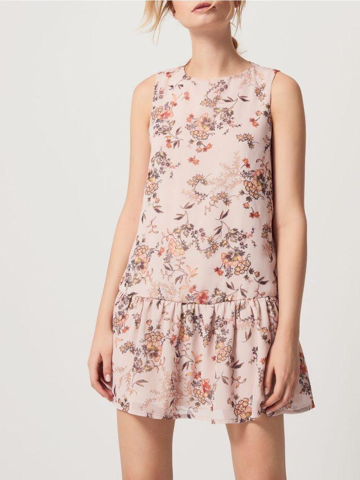 Květinové šaty, MOHITO, RW962-02X