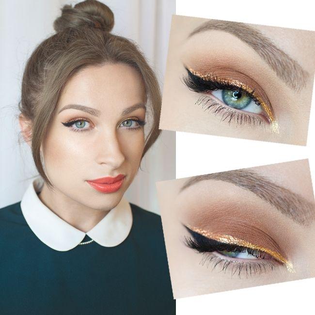 Wow! Piękny makijaż na Wigilię [video] - Artykuł