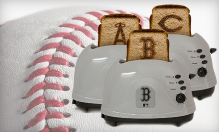 Ok, I really want the Angels toaster.Easy Gift, Mlb Toaster, Pinterest Products, Protoast Toaster, Angels Toaster, Gift Ideas, Geek Cities, Fathers Day, Gift Cities