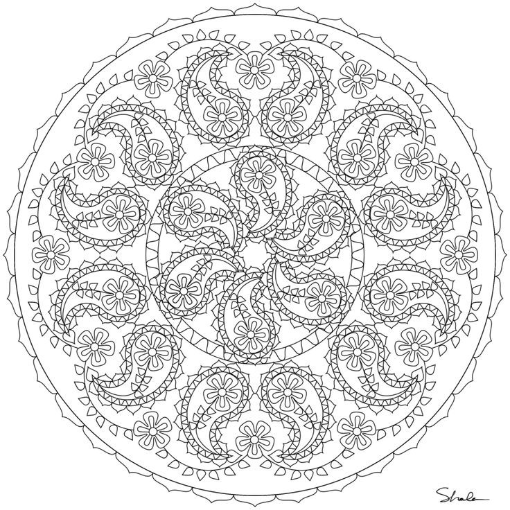 Printable Coloring Pages For Adults Difficult : 66 best coloring page images on pinterest