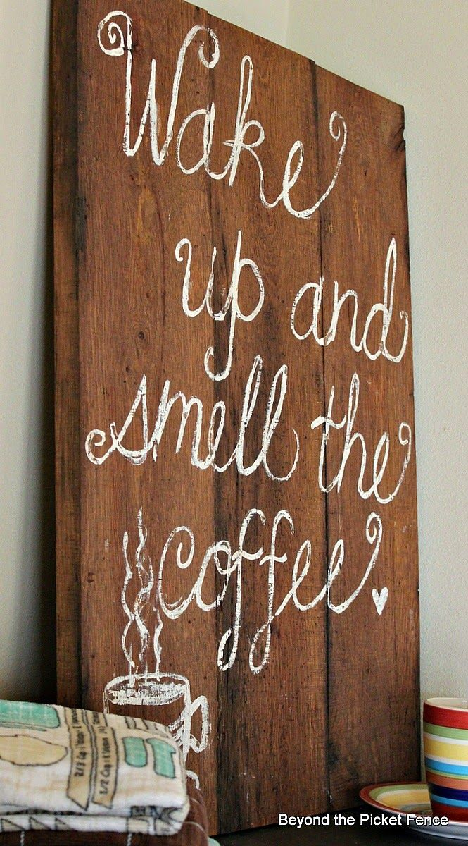 My Imperfect Coffee Sign  http://bec4-beyondthepicketfence.blogspot.com/2014/08/my-imperfect-coffee-sign-just-keeping.html