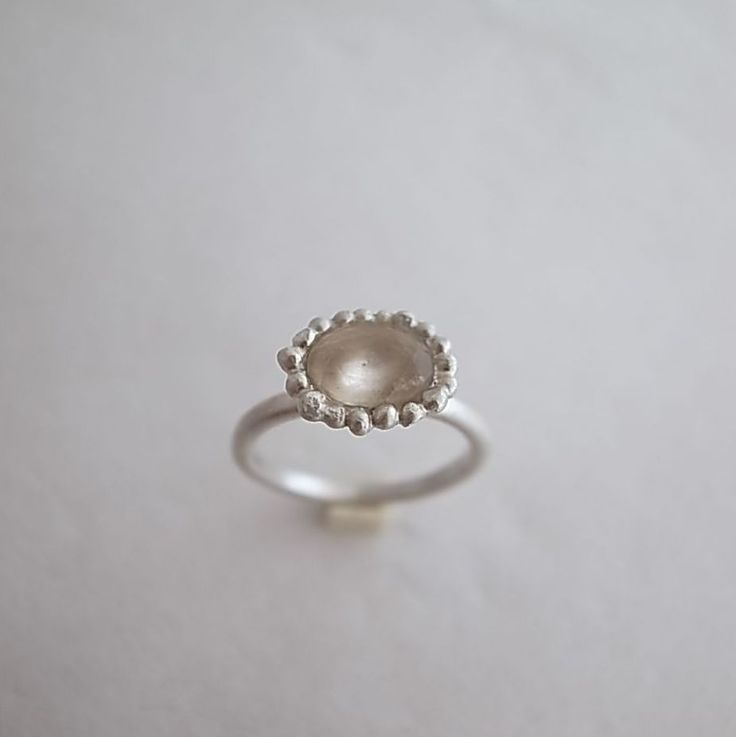 ring/ silver 925/1000, morganit