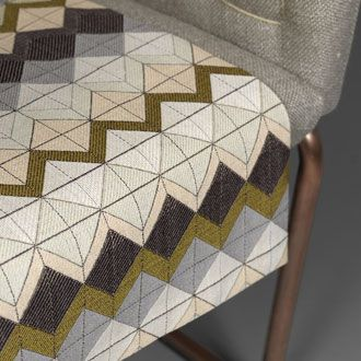 Jacquard woven fabric by Mats Theselius