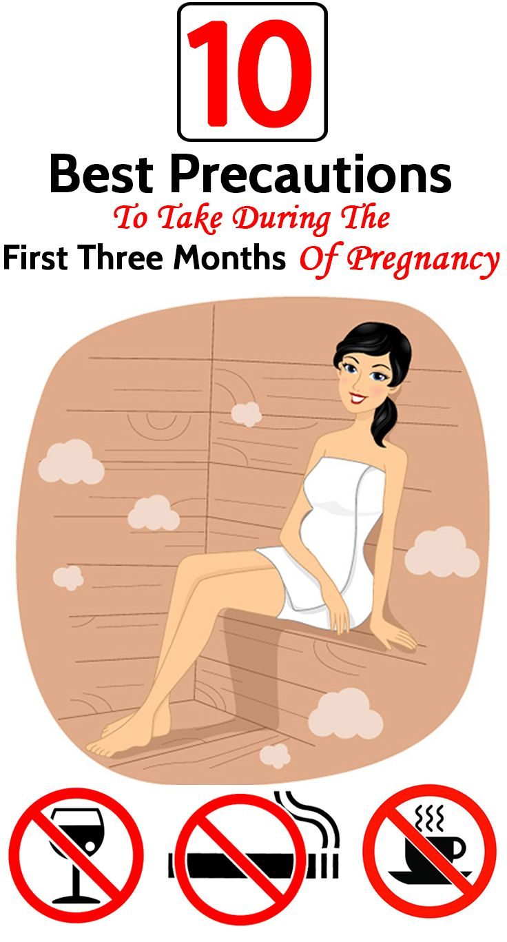 6 Best Precautions To Take During The First Three Months Of Pregnancy