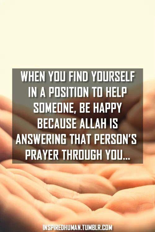 Person's prayer