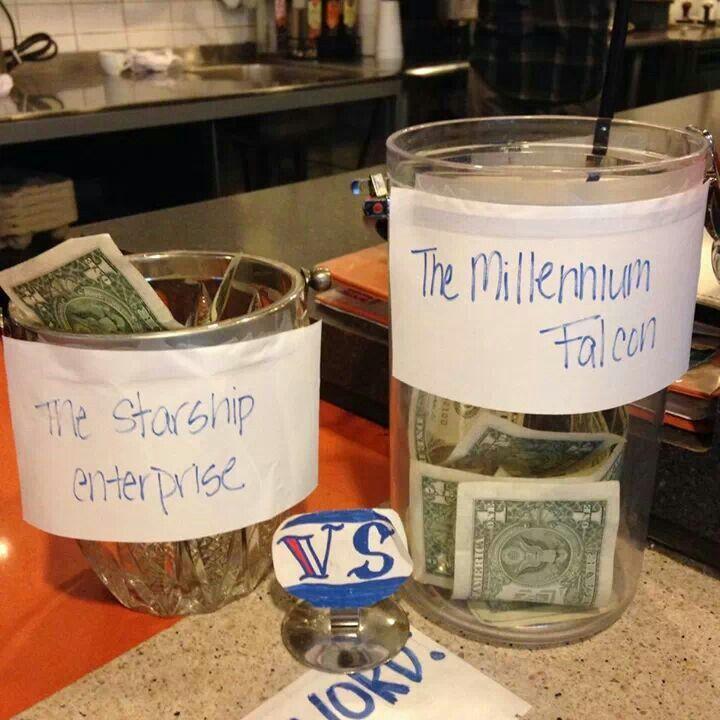 Awesome Tip Jar Idea Lol Nerdy Stuff Pinterest Tip Jars Jar