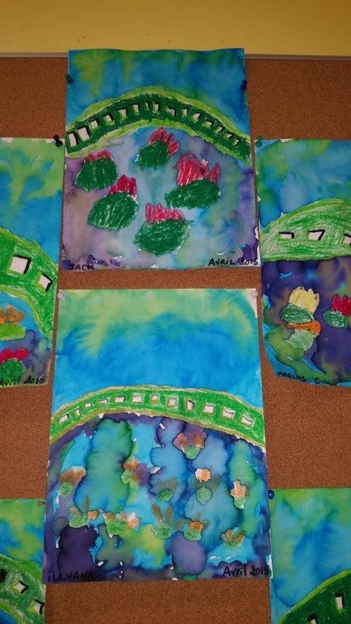 Giverny à la manière de Monet (Grande section)