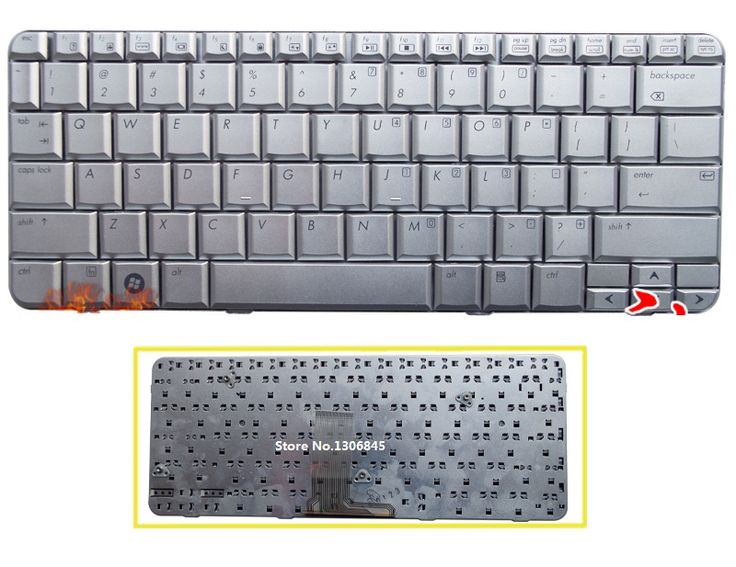 New US Keyboard silver For HP Pavilion TX1000 TX2000 TX2100 TX2500 TX1 TX2 laptop Keyboard #Affiliate