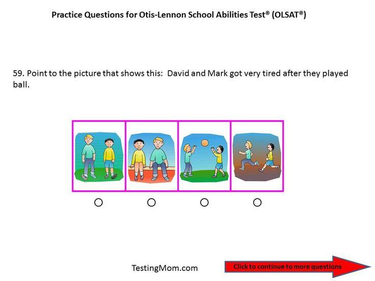 104 best OLSAT® Test (Otis-Lennon School Ability Test®) Free ...
