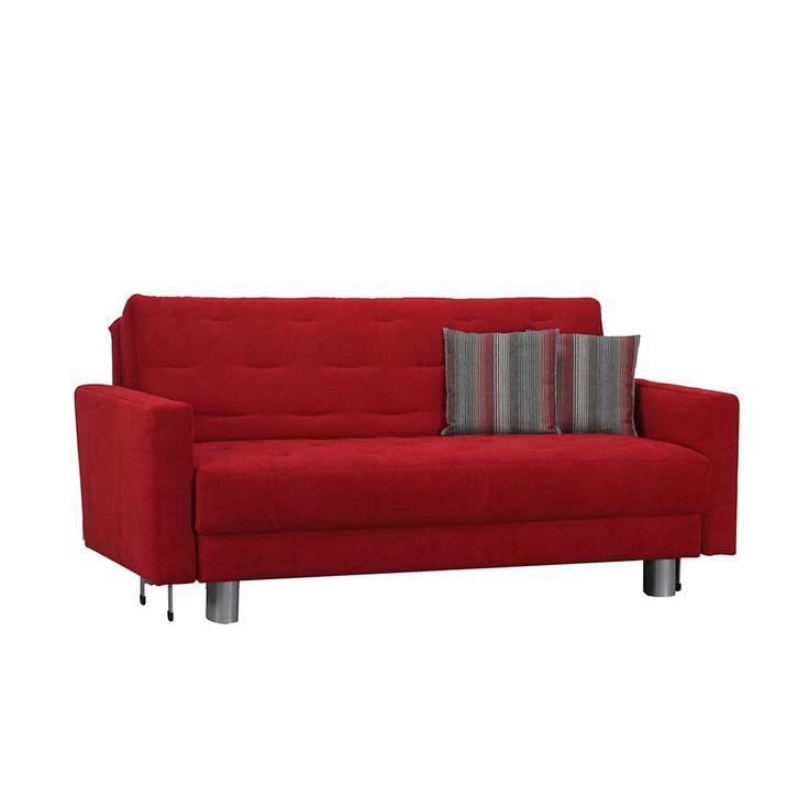 Couch in Rot Schlaffunktion Jetzt bestellen unter: https://moebel.ladendirekt.de/wohnzimmer/sofas/schlafsofas/?uid=fadd7f69-5984-51ac-80c7-84176c4b0706&utm_source=pinterest&utm_medium=pin&utm_campaign=boards #3er #schlafsofas #sofa #klappsofa #verw #funktionssofa #bettsofa #couch #liegesofa #lungssofa #klappcouch #sofas #schlafcouch #schlafsofa #zweisitzer #wohnzimmer #bettcouch #2er Bild Quelle: pharao24.de