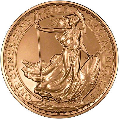 The gold Britannia is a much sought after coin. Minted by The Royal Mint since 1987, proof and uncirculated versions are produced each year. The reverse features Lady Britannia and the obverse has The Queen's portrait. Britannias are British legal tender and so are exempt from Capital Gains Tax.