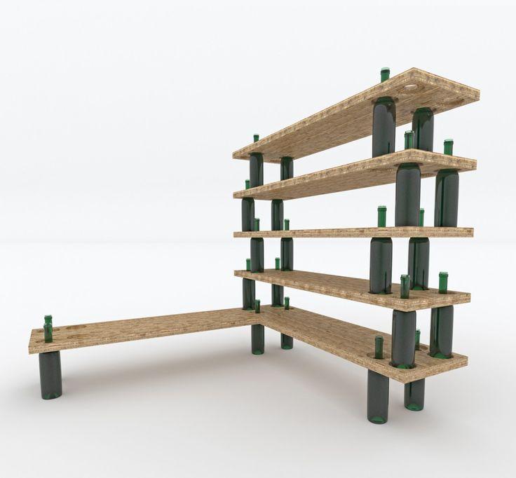 Unique Shelving 10 best shelving units for concrete pots images on pinterest