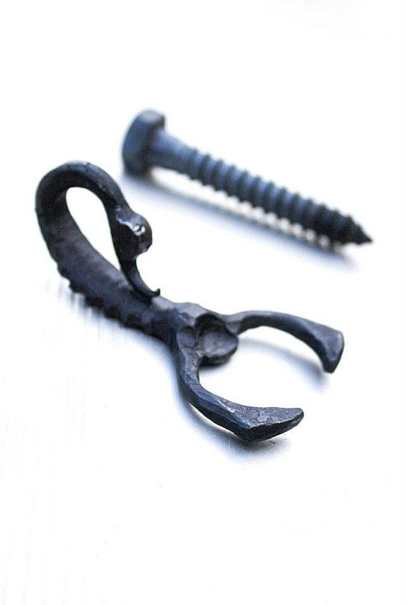 Recycled Metal Bottle Opener - Scorpion handforged-Great Gift Idea for Scorpio Birthday, Fathers day, or anyday.Comes in a burlap gift bag