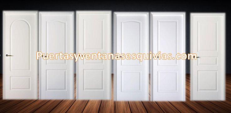 Puertas lacadas en blanco, montamos en obra. http://www.puertasyventanasesquivias.es/puertas-interior-lacadas-blancas/