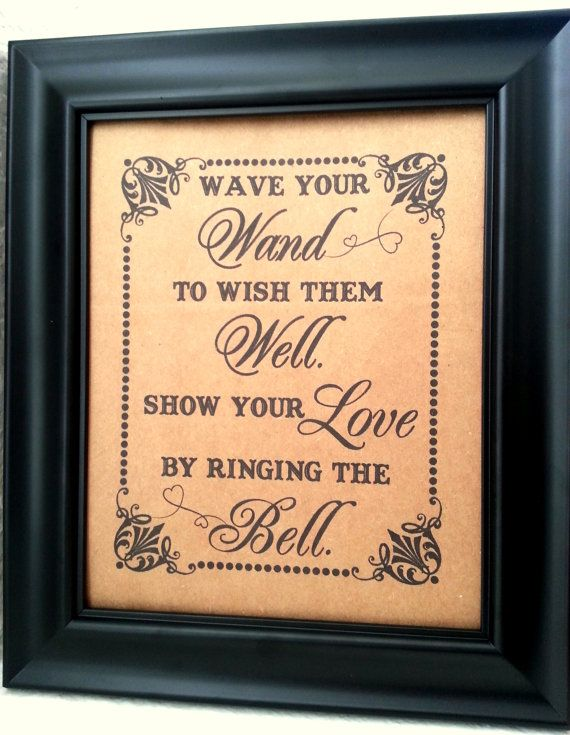 8+x+10+Wave+Your+Wand+and+Ring+The+Bell++Print+by+akapertyfultings,+$10.00