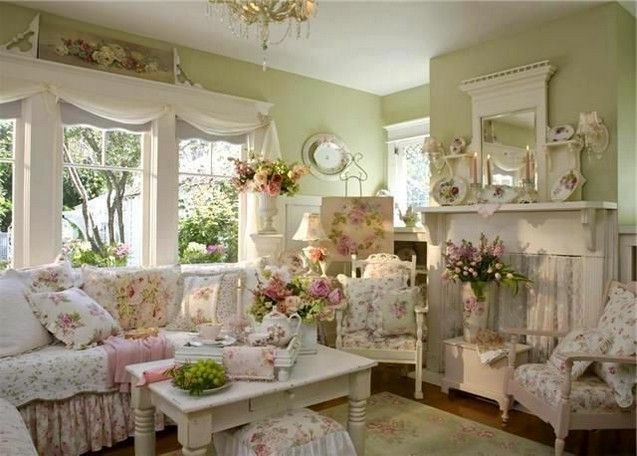 709 Best Victorian Romantic Shabby Cottage Living Rooms Images