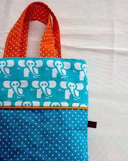 Fien*en*Mien: Cadeautjes deel 2: Voor mijn allerliefste.... Het Pia-tasje met patroon