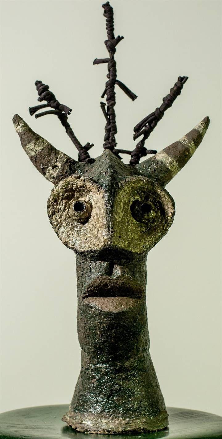 Minotauro, Escultura Tecido Animais original por Alberto Péssimo