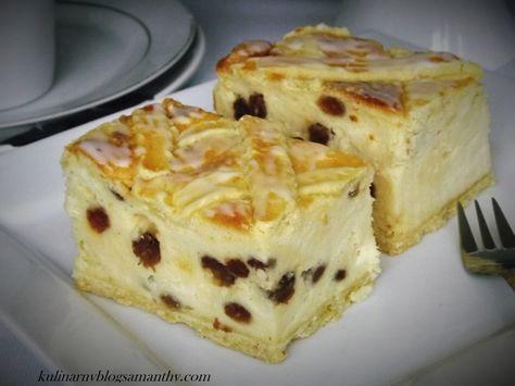 Klasyczny sernik z kratką, zaliczany do najsmaczniejszych serników. Typowy sernik krakowski z rodzynkami. Ten tradycyjny sernik często gości na naszych stołach wielkanocnych i wigilijnych. Składni…