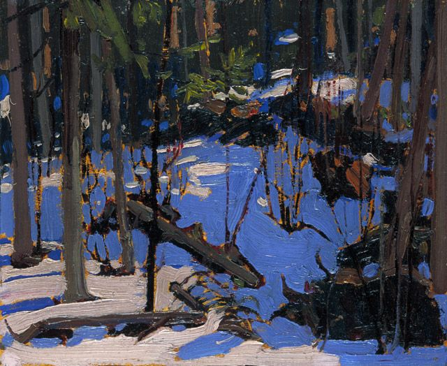 aleyma: Tom Thomson, Winter in the Woods, 1916 (source).