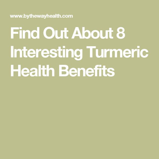 Find Out About 8 Interesting Turmeric Health Benefits
