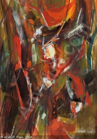 DALLAIRE Jean-Philippe - Abstract Composition