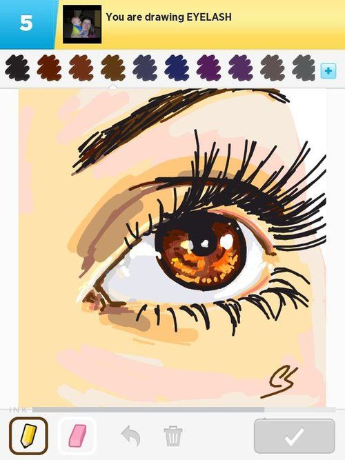 Eyelash les meilleurs draw somethings pinterest for Awesome draw something pictures