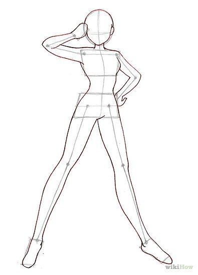 Line Drawing Woman Body : Drawing male anime figure google search manga