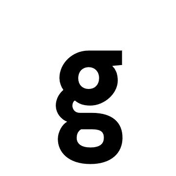 "What a lovely ""g"" —Soin Sans #sansserif"