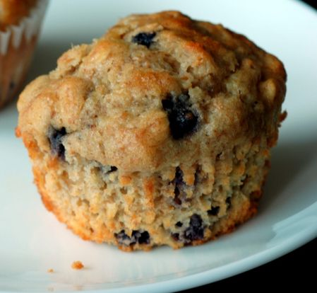 Bueberry Oatmeal Muffins made using Better Oats instant oatmeal. They turned out GREAT!