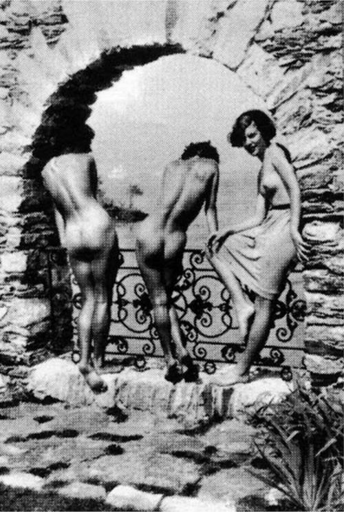 The Graces on the Brissago Islands, 1930