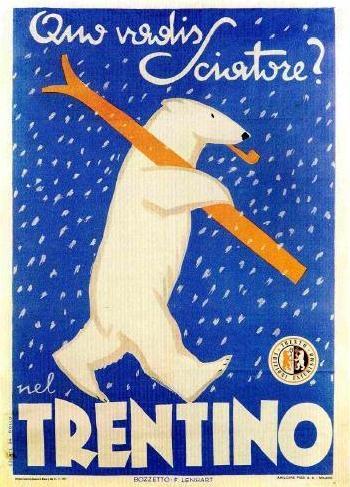 Manifesto pubblicitario (1947) - #trentino