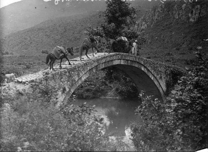 Fred Boissonnas-Το γεφύρι της Γκούμανης Θεσπρωτίας,1913