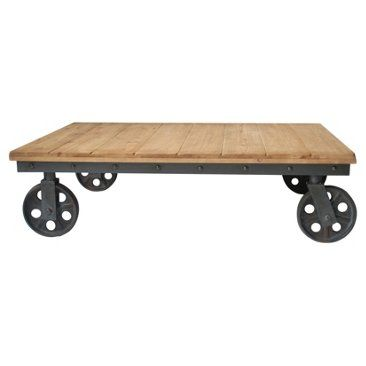 Check out this item at One Kings Lane! Migs Coffee Table, Natural