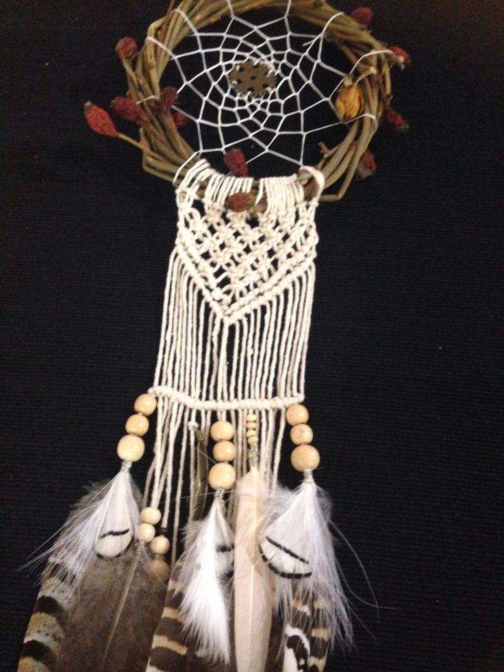 A personal favourite from my Etsy shop https://www.etsy.com/au/listing/491317319/dream-catcher-macrame-wall-hanging