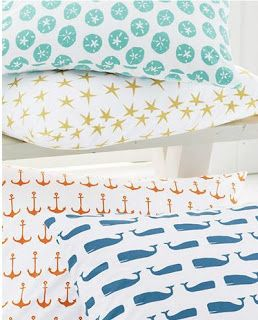 Nautical Bedding - So cute for guest room!